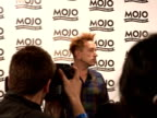 Mojo Awards 2008 ceremony celebrity photocalls and interviews John Lydon speaking to reporters and posing John Lydon interview SOT Are you being...