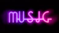 Musik in neon