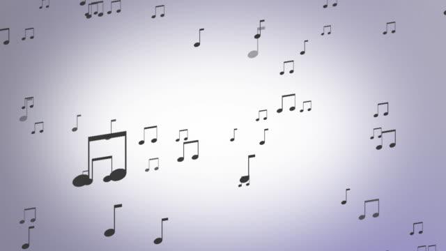 Sfondo di note musicali Looping
