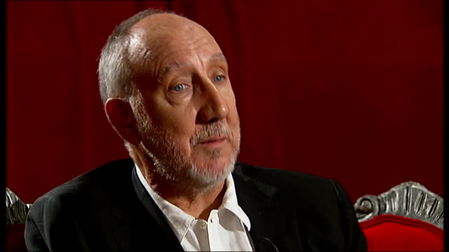 Pete Townshend interview Pete Townshend interview SOT On whether there was a vinyl shortage at the time when the album was released / the album...
