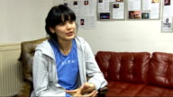 Priscilla Ahn interview and performance ENGLAND London INT Priscilla Ahn interview SOT On being on tour / her fiance / British music scene / coming...