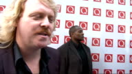 Q Awards 2011 celebrity arrivals / winners room Leigh Francis interview SOT On his current projects / shows his phone cover / his favourite line from...