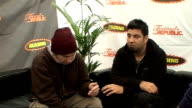 Reading Festival 2009 Deftones interview ENGLAND Berkshire Reading INT Abe Cunningham and Chino Moreno interview SOT On Reading Festival / Their past...