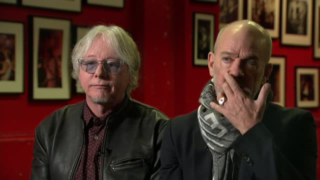 REM rerelease album 'Automatic for the People' 25 years on Mike Mills and Michael Stipe interview SOT