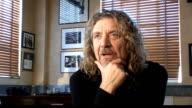 Robert Plant collaboration with Alison Krauss Plant interview SOT On Ertegun