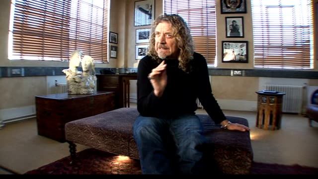 Robert Plant collaboration with Alison Krauss Plant interview SOT On singing with another singer