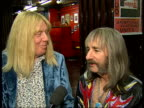 'Spinal Tap' interview On reformed bands and how their reforming will be momentary as splitting up again after concert / chance to win a dinner in LA...