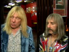 Spinal Tap reform for Live Earth concert interview On the new track they will be premiering 'Warmer than Hell' / Their return being more momentary...