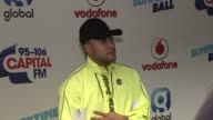 Summertime Ball Part 1 Jax Jones and Raye photocall and interviews SOT Teaming up together / How many times they say 'know' in their song do they get...