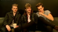 The Vamps interview ENGLAND London INT The Vamps interview SOT all introduce themselves and what they do On their selfie tour and selfie tips...