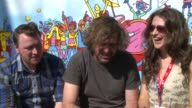 V Festival 2015 Interviews Reverend and the Makers interview SOT On having beef with anyone on twitter On liking Zane from 1D On key dance moves...