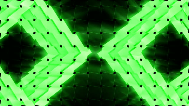 Music video abstract clip green background