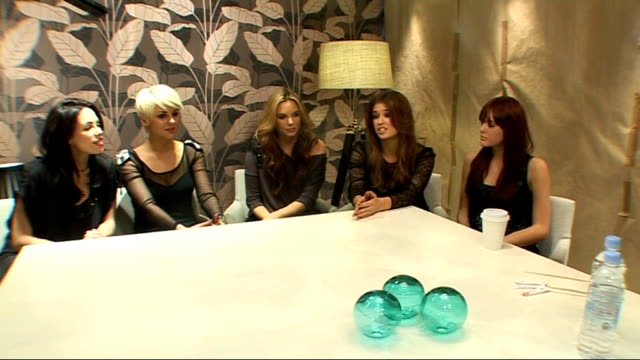 'Wonderland' girl band interview ENGLAND London INT 'Wonderland' interview SOT what happened the last two years since they first got put together...