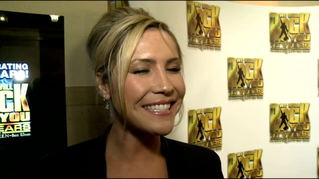 10th anniversary of 'We Will Rock You' Heidi Range interview SOT On Dancing In Ice tour On losing weight On solo stuff away from Sugababes On being...