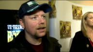 10th anniversary of 'We Will Rock You' Rufus Hound interview SOT On what he is so rock and roll On singing Cheryl Coles Fight For This Love The Voice...