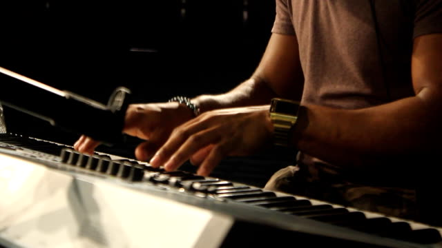 MS Musician on keyboard / Johannesburg/ South Africa