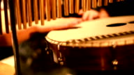 Musician Playing Percussion