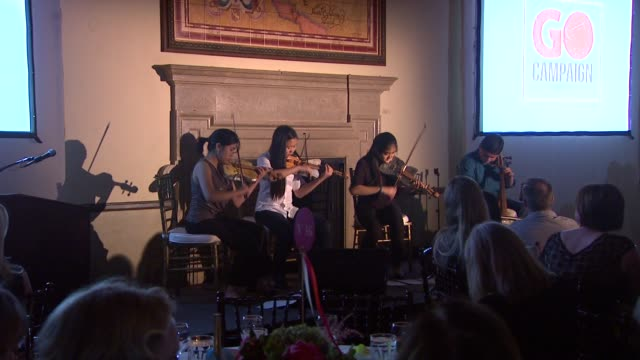 ATMOSPHERE Musicians at 6th Annual Go Go Gala in Pacific Palisades CA on