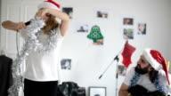 Musicians celebrating Christmas