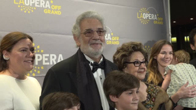 Musicians singers and artists gather in Los Angeles for a musical celebration of opera giant Placido Domingo's 50 year career