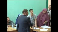 Muslim Brotherhood candidate Mohammed Mursi flashed victory signs as he voted in Egypt's presidential runoff but he faces an uphill battle against...