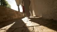 HD: Muslim Man Praying At Late Afternoon