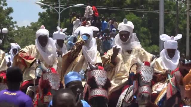 Muslims in northern Nigeria celebrate the Eid festivities marking the end of the holy month of Ramadan CLEAN Nigeria celebrates end of Ramadan on...
