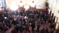 Muslims offer Eid alFitr prayers at Broadmeadows Mosque in Melbourne Australia on June 25 2017 Muslims around the world will celebrate the threeday...
