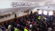 Muslims perform the last Friday prayer at Thomastown Mosque during the holy fasting month of Ramadan in Melbourne Australia on June 23 2017 Muslims...