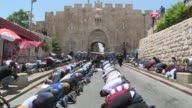 Muslims refused for the third day to enter a Jerusalem holy site and protested outside after Israeli authorities installed metal detectors at...