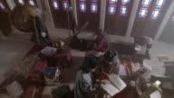 MS, CS, CU, Muslims studying Koran, Iran