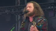 PERFORMANCE My Morning Jacket members on the goals of this event being pretty big and what being a global citizen means to themat Global Citizen 2015...