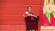 Myanmar leader Aung San Suu Kyi reaches out to the global community in a broad appeal for support over a refugee crisis the UN has decried as ethnic...