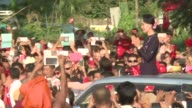 Myanmar opposition leader Aung San Suu Kyi told tens of thousands of supporters Sunday to be vigilant against election fraud during a huge show of...