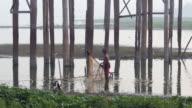Myanmar - U Bein Bridge, Mandalay