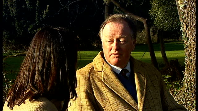 Myddleton House Gardens to be restored with lottery funding Reporter to camera Andrew Parker Bowles interview SOT General view of Myddleton House...