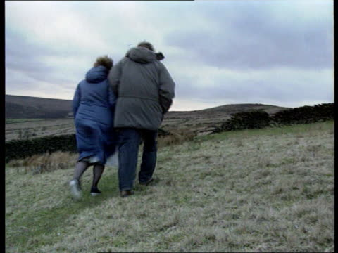 Myra Hindley to spend rest of life in prison Yorkshire Moors Winnie Johnson and son walking on moor Manchester Winnie Johnson intvw She'll never...