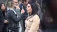 Nadine Labaki at Burberry Prorsum A/W 2015 at Kensington Gardens on February 23 2015 in London England