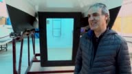 Nadir Tuncay an entrepreneur in catamaran manufacturing business for 10 years says to AA reporter that there's a high demand from both Turkey and...