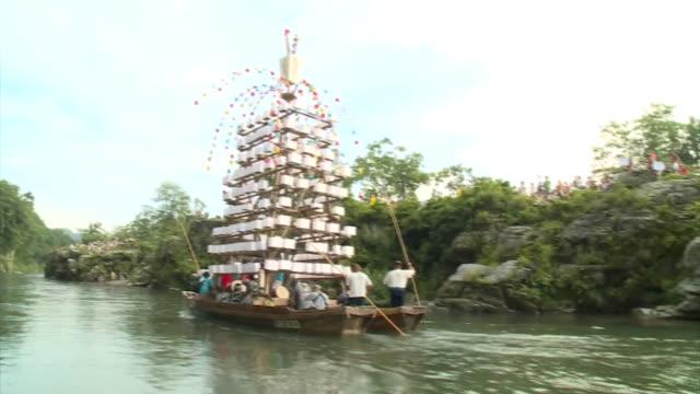 Nagatoro Funadama Festival / Japanese River Festival