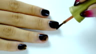 Nail Polish to the hand