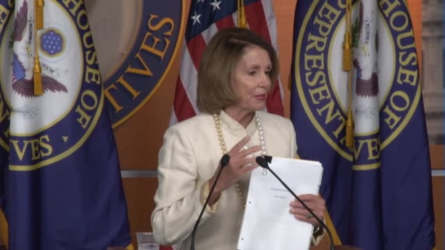 Nancy Pelosi compares Iran deal with agreement reached between US Soviet leaders a generation before