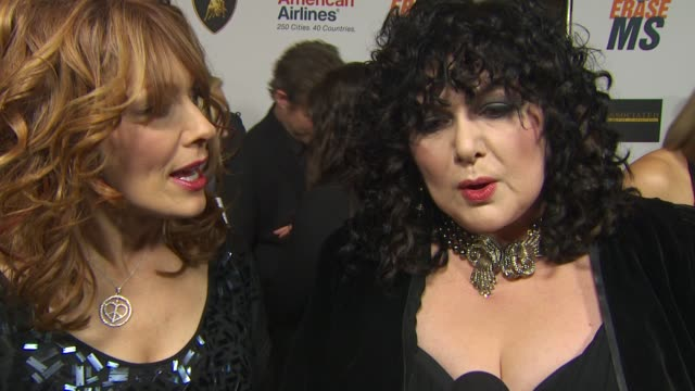 Nancy Wilson Ann Wilson on being a part of the night what we can expect from their performance at the 17th Annual Race To Erase MS CoChaired By Nancy...