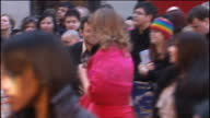 'Nanny McPhee and The Big Bang' Premiere at Leicester Square in London Shows exterior shots of actor Andy Serkis signing autographs on the red carpet...