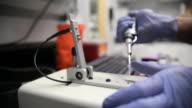 Nanodrop operation