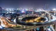 T/L WS HA PAN Nanpu Bridge at Night / Shanghai, China