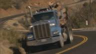 Napa Valley, CALogging truck