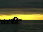 Naples Pier Sunset Time lapse NTSC
