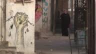 Narrow Alleyway, Balata Refugee Camp, Palestine