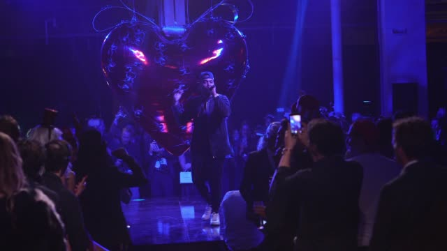 PERFORMANCE Nas at Natalia Vodianova's Naked Heart Foundation to partner with amfAR in New York for Fabulous Fund Fair at Skylight Clarkson Sq on...